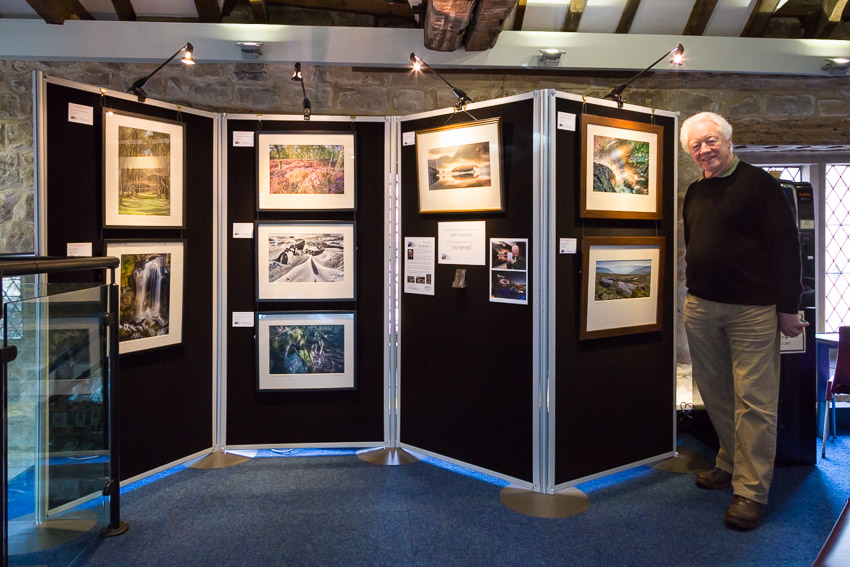 Exhibition in Bakewell, Derbyshire